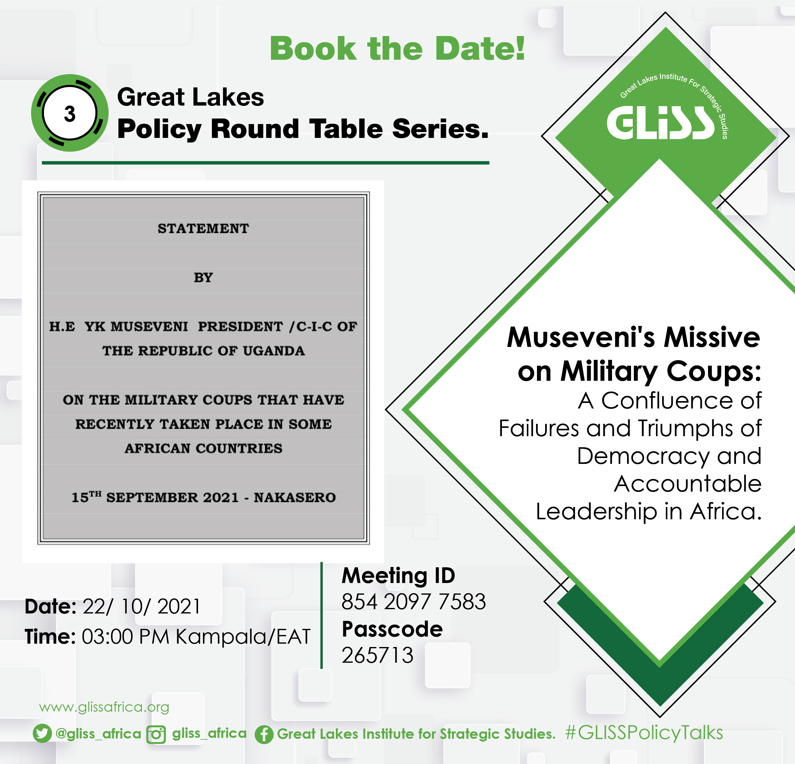 Great Lakes Policy Round Tables